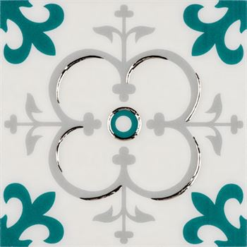 RICCO TURQUOISE T04 Ceramic Porcelain Decor
