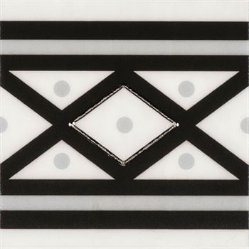 RICCO NEGRO S05 Ceramic Porcelain Decor