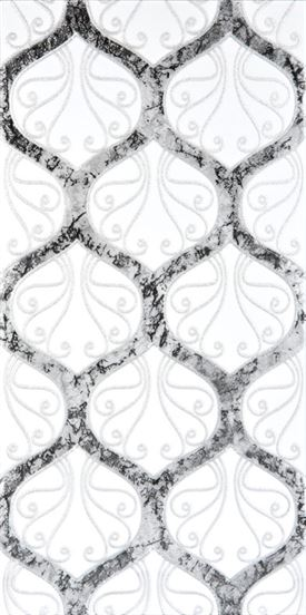 (MSD-18) Silvery Ceramic Decor