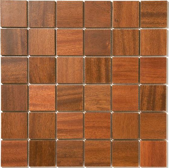 African Wood Mosaic T-4520 Abuye