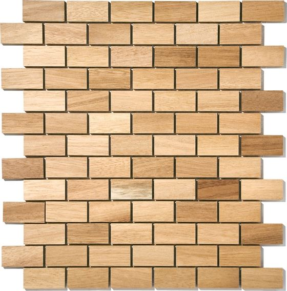 African Wood Mosaic T-4535 Osaze