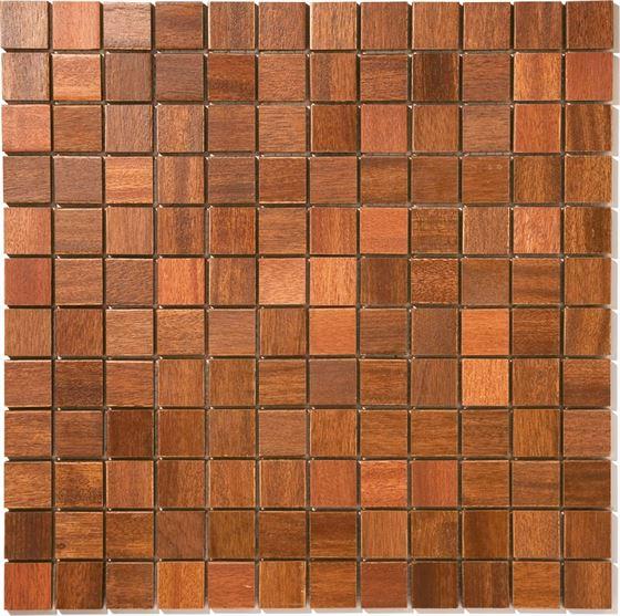 African Wood Mosaic T-4550 Kojo