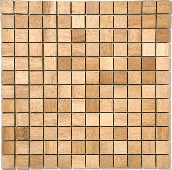 African Wood Mosaic T-4555 Iroro