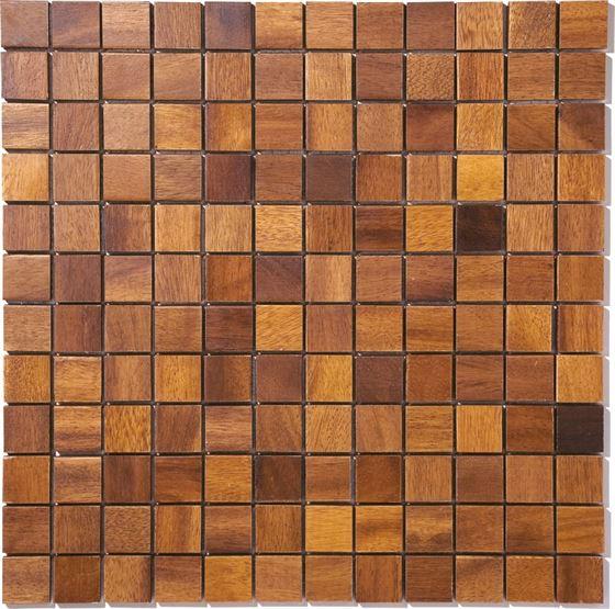 African Wood Mosaic T-4560 Efosa