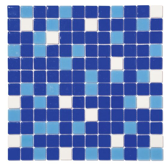 Pool Glass Mosaic BP-MIX-2530 (25mm)