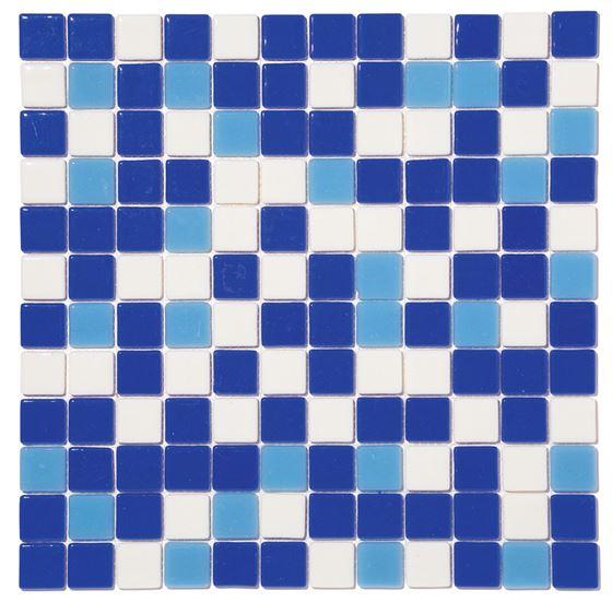 Pool Glass Mosaic BP-MIX-2531 (25mm)