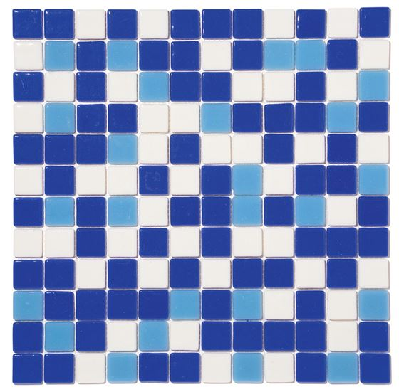 Pool Glass Mosaic BP-MIX-2531 (25mm)