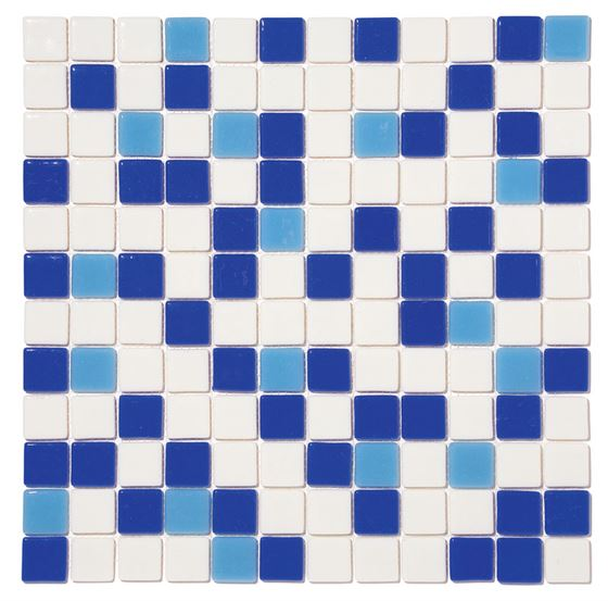 Pool Glass Mosaic BP-MIX-2532 (25mm)