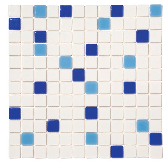 Pool Glass Mosaic BP-MIX-2534 (25mm)