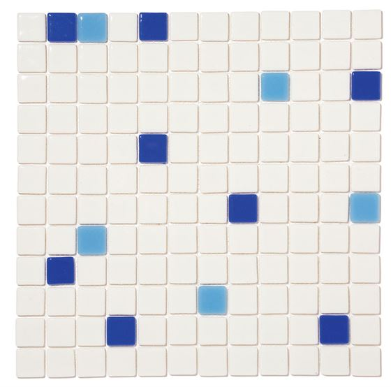 Pool Glass Mosaic BP-MIX-2535 (25mm)