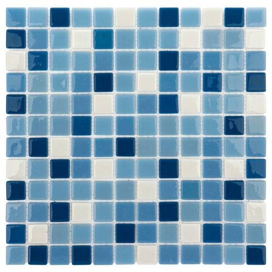 Pool Glass Mosaic BP-124 (25mm)