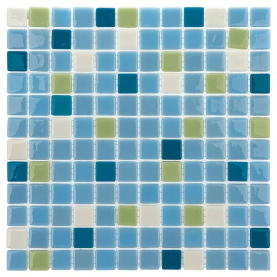 Pool Glass Mosaic BP-128 (25mm)