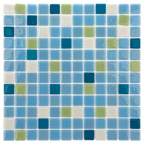 Pool Glass Mosaic BP-128 (25mm)