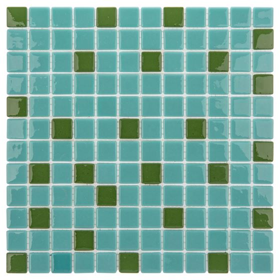 Pool Glass Mosaic BP-132 (25mm)