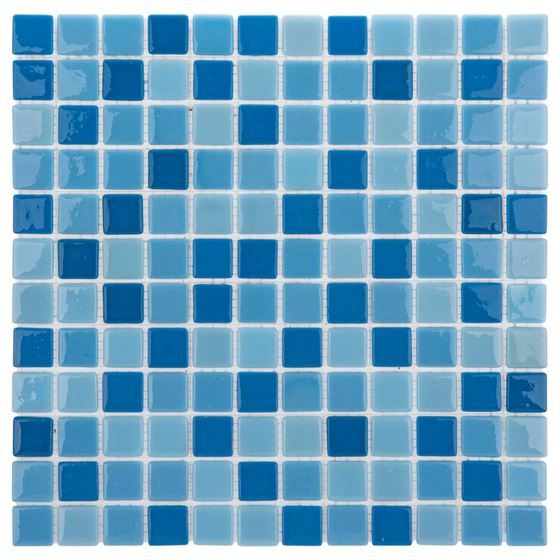 Pool Glass Mosaic BP-135 (25mm)