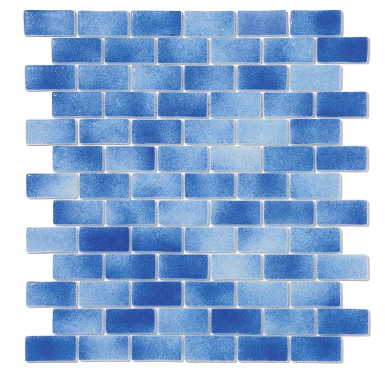 Pool Glass Mosaic BP-501 (25x50mm)
