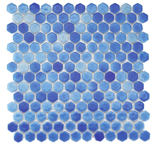 Pool Glass Mosaic BP-501 (Hegza)
