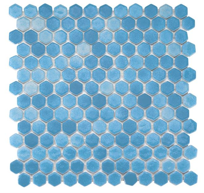 Pool Glass Mosaic BP-502 (Hegza)