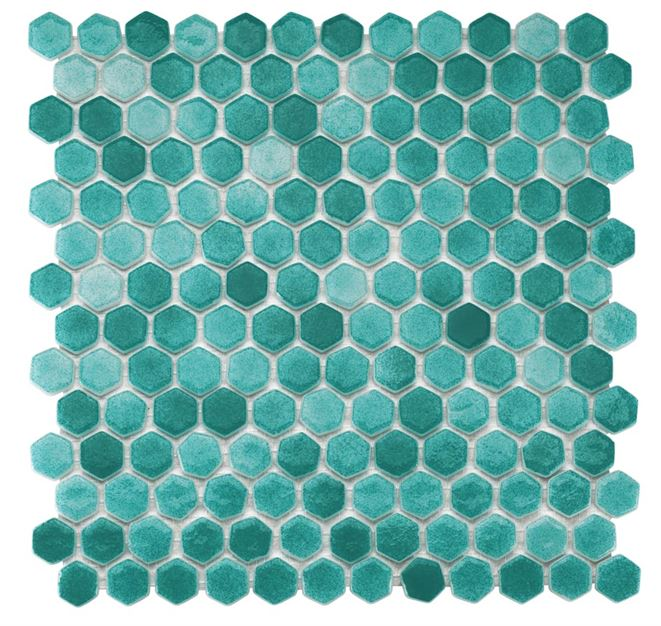 Pool Glass Mosaic BP-507 (Hegza)