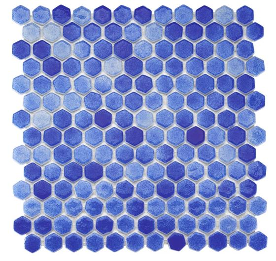 Pool Glass Mosaic BP-591 (Hegza)