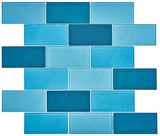 Pool Glass Mosaic BP-391 (48x98x4mm)