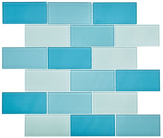 Pool Glass Mosaic BP-356 Kanza (48x98x4mm)