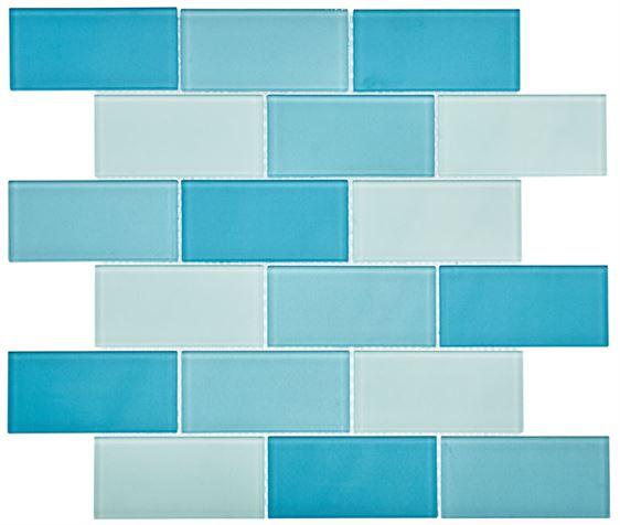 Pool Glass Mosaic BP-356 Kanza (48x98x4mm)