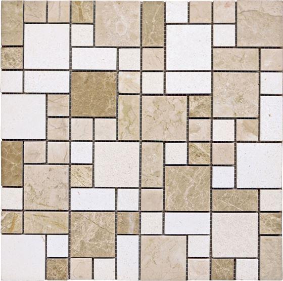 AK-9290 Marble Mosaic Roma B2