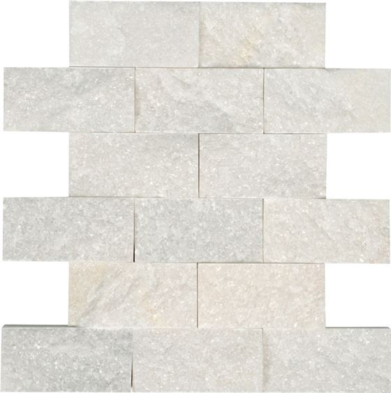 AKSF-9053 Natural Stone Crystal White