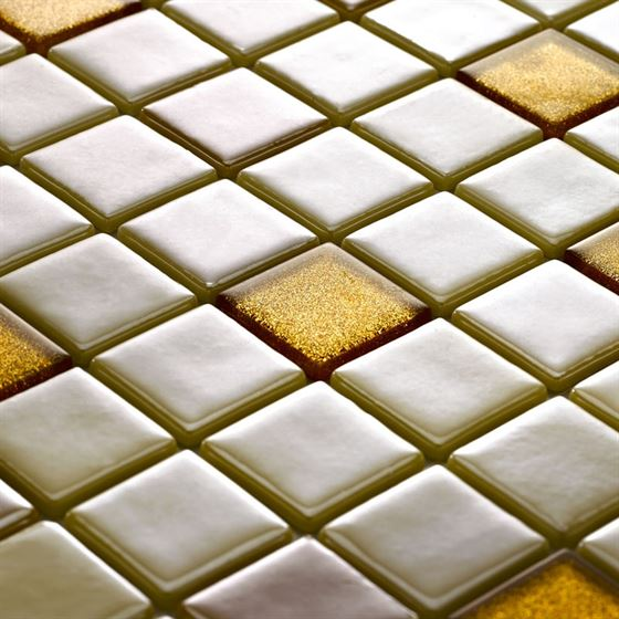 Millenium Silvery Glass Mosaic / T-2282 Melendiz