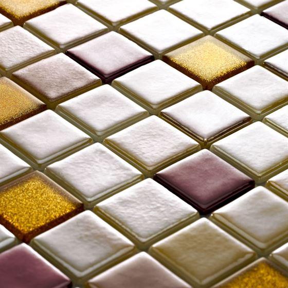 Millenium Silvery Glass Mosaic / T-2283 Nemrut