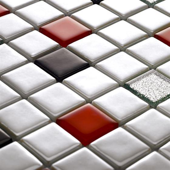 Millenium Silvery Glass Mosaic / T-2291 Toros