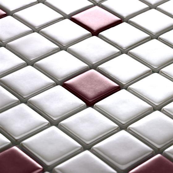 Millenium Silvery Glass Mosaic / T-2292 Alara