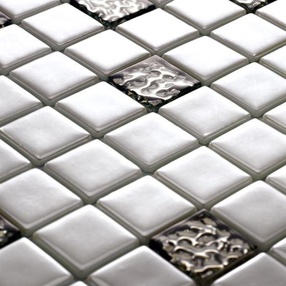 Millenium Silvery Glass Mosaic / T-2294 Bolkar
