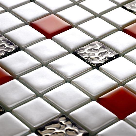Millenium Silvery Glass Mosaic / T-2295 Kaçkar