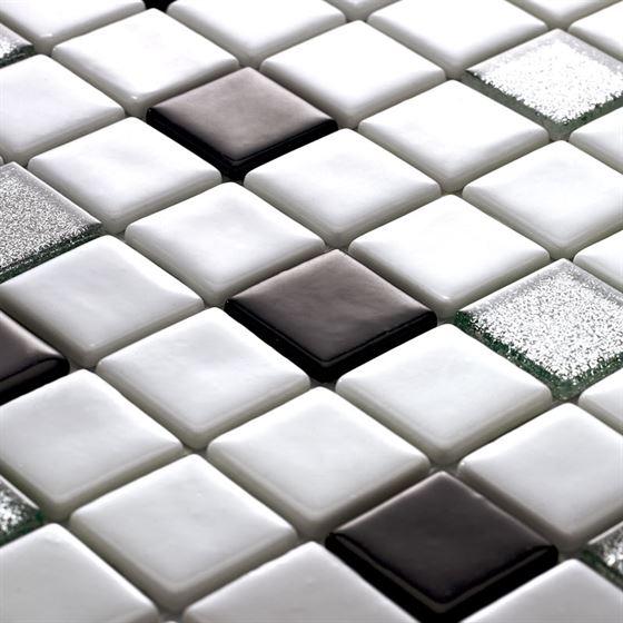 Millenium Silvery Glass Mosaic / T-2298 Koray