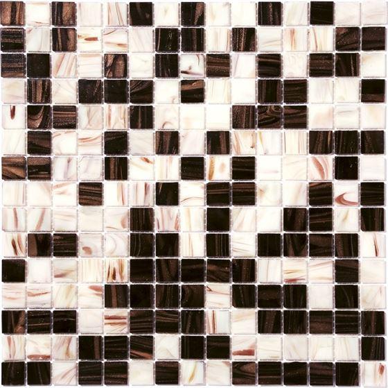 Retro Glass Mosaic / R-8850 Puce