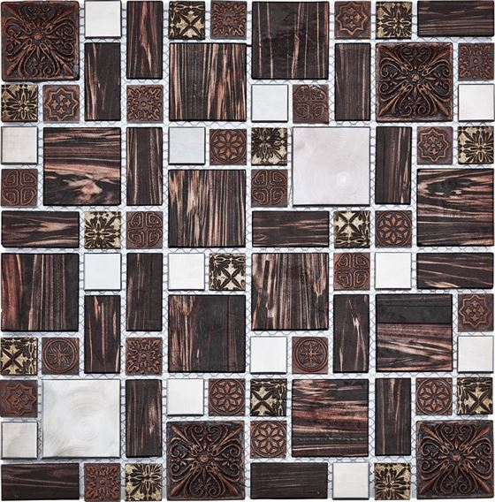 Retro Glass Mosaic / R-8862 Galaksi