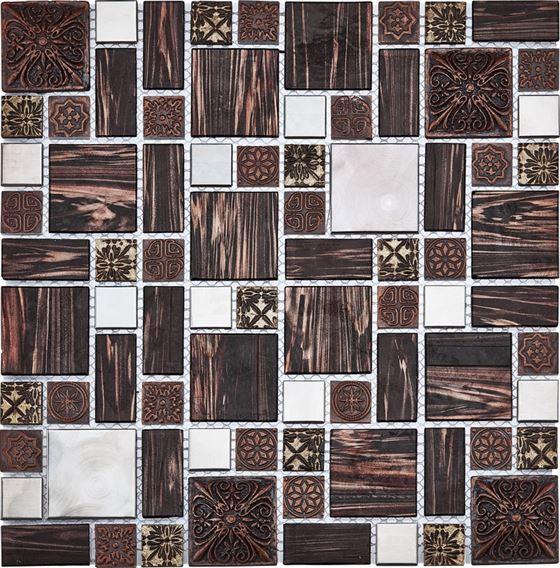 Retro Glass Mosaic / R-8862 Galaksi