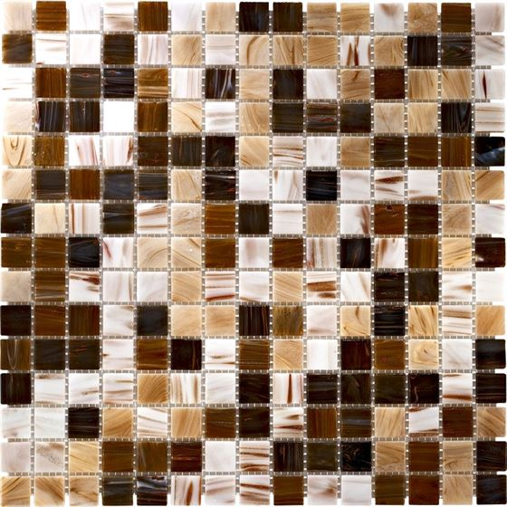 Retro Glass Mosaic / R-8887 Pomo