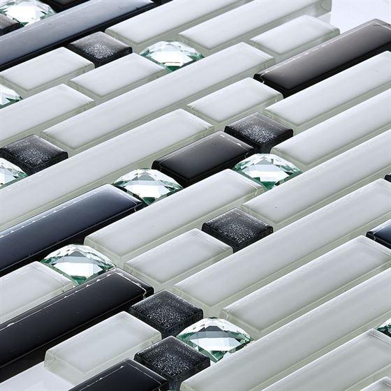 TENLight Crystal Glass Mosaic D-09 Safir