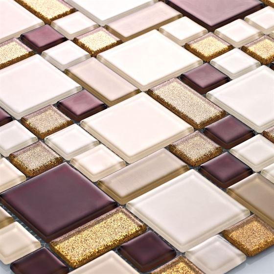 TENLight Crystal Glass Mosaic L-1123 Dumna Star (Roma)