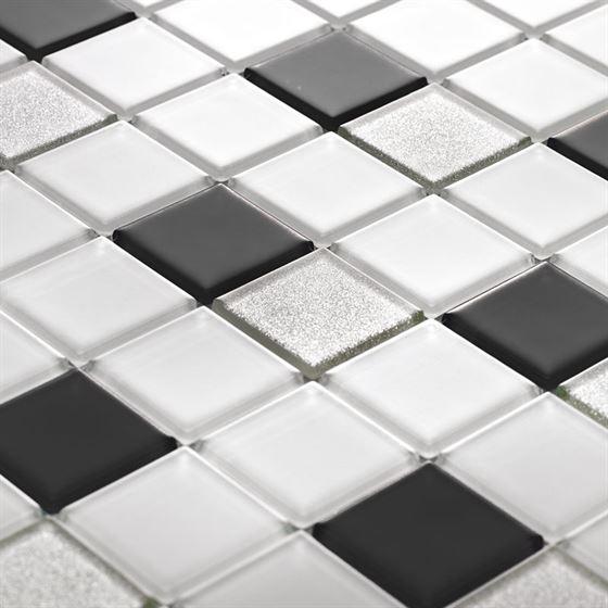 TENLight Crystal Glass Mosaic L-1143 Blanco
