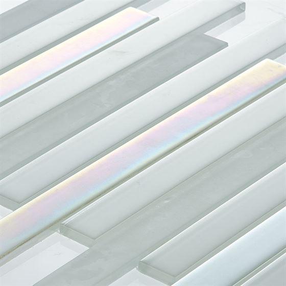 TENLight Crystal Glass Mosaic L-1147 Snow