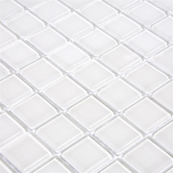 TENLight Crystal Glass Mosaic L-1172 White