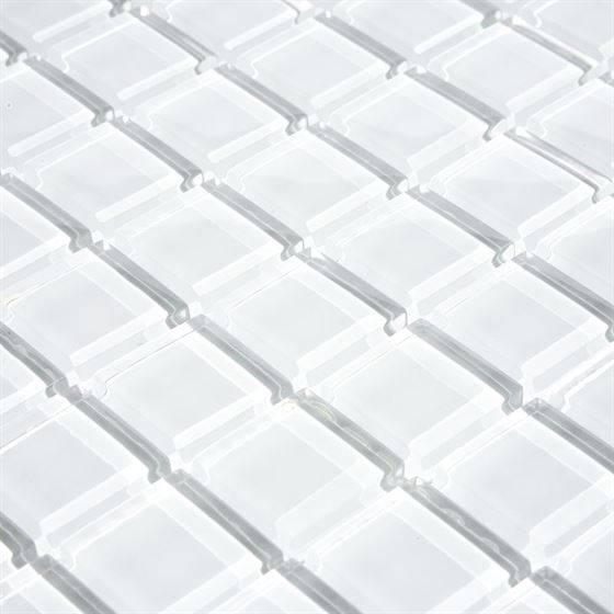 TENLight Crystal Glass Mosaic L-701 White