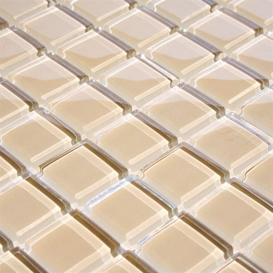 TENLight Crystal Glass Mosaic L-713 Beige Honey