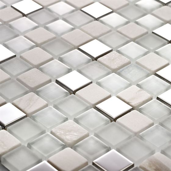 TENLight Marble & Glass Mosaic SG-2501 Polar