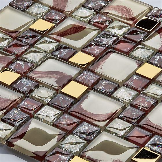 TENLight Metal-Crystal Mosaic K-4823 Sardunya