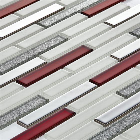 TENLight Metal-Crystal Mosaic L-1113 Rosa